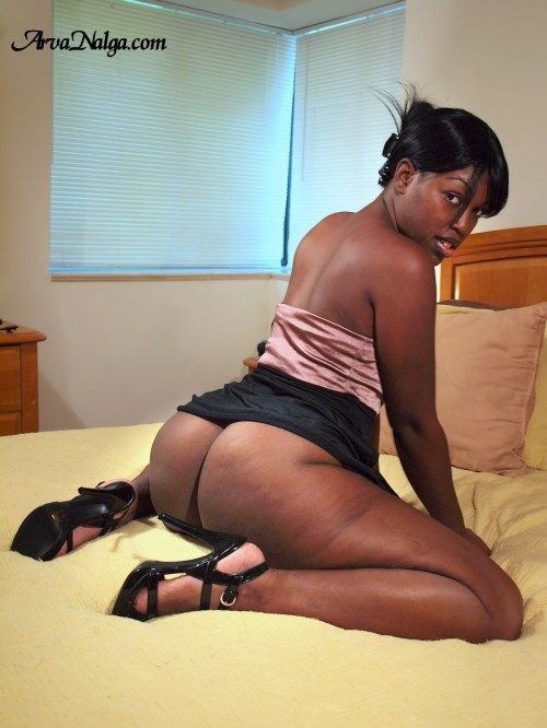 The Dominican ebony beauty with the big black booty.